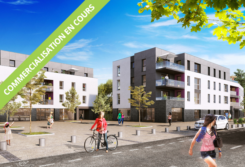 Programme immobilier Neoximo Résidence Diderot à Nieppe