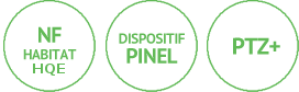 Programme immobilier Neoximo RT Habitat dispositif Pinel PTZ+ Imagin à Roubaix