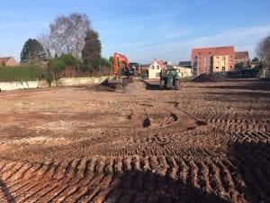 Démarrage des travaux du programme immobilier le Clos Vermillon à Provin